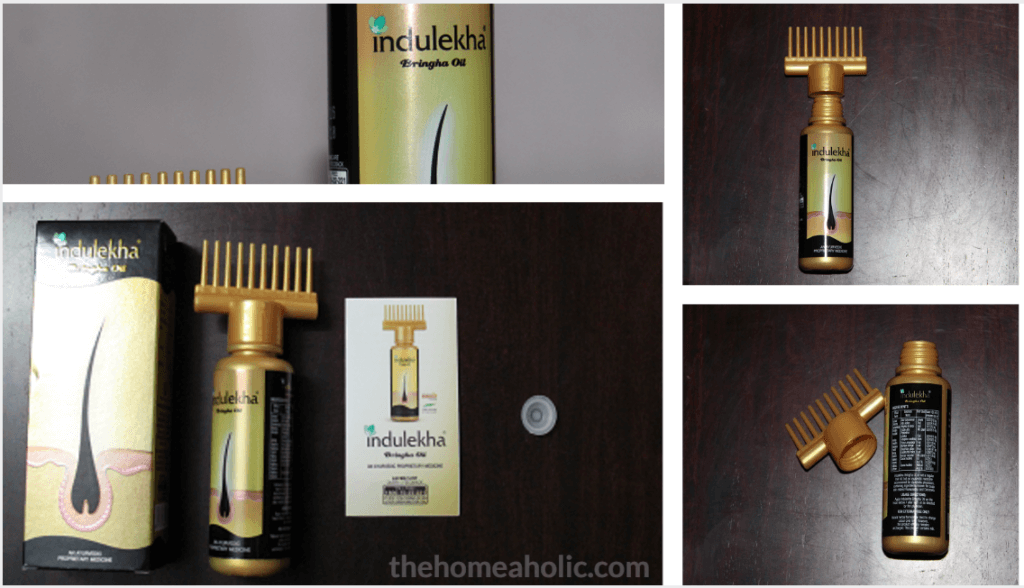 Indulekha Hair Oil Pack Contents