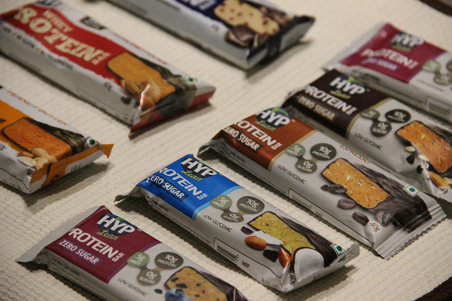 All Hyp Protein Bars in One Picture